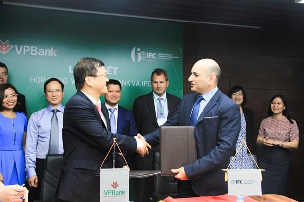 VPBank primee par la Societe financiere internationale hinh anh 1