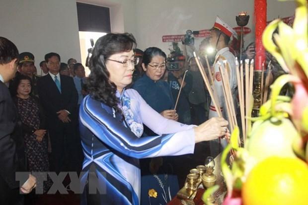 Activites en l'honneur du 128e anniversaire du President Ho Chi Minh hinh anh 1