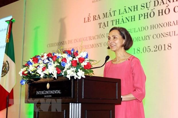Le consulat d'honneur du Mexique a Ho Chi Minh-Ville voit le jour hinh anh 1