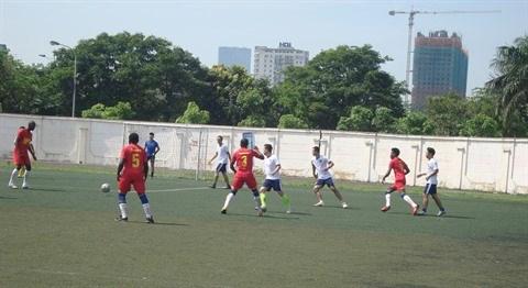 Football: All Stars remporte le 3e tournoi des anciens etudiants hinh anh 3