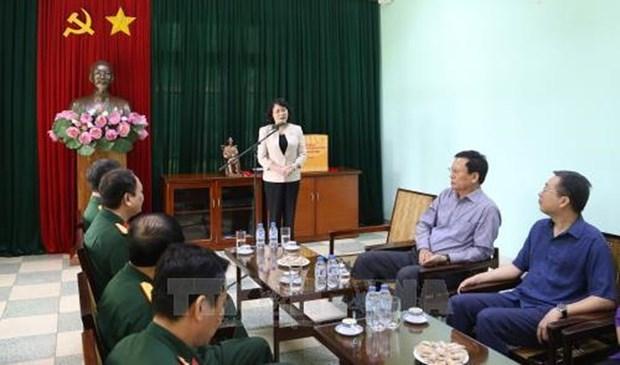 Activites a l'occasion du 128e anniversaire du President Ho Chi Minh hinh anh 1