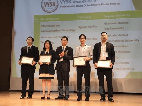 La 5e conference annuelle des jeunes scientifiques vietnamiens en Republique de Coree hinh anh 1