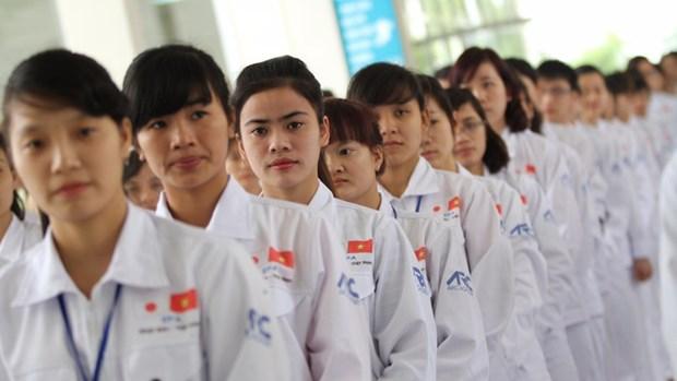 Pres de 37.000 travailleurs vietnamiens envoyes a l'etranger en 4 mois hinh anh 1