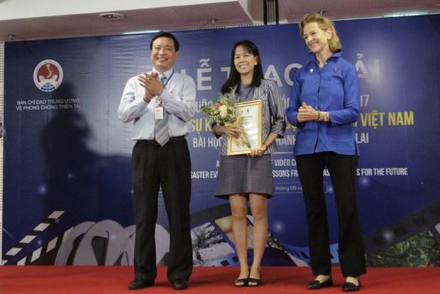 Remise des prix du concours du film sur les catastrophes naturelles au Vietnam hinh anh 1