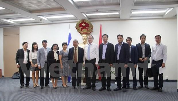 Une delegation de Ho Chi Minh-Ville en Israel hinh anh 1