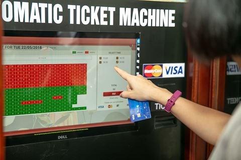 Billetterie automatique au Theatre des marionnettes sur l'eau de Thang Long hinh anh 1
