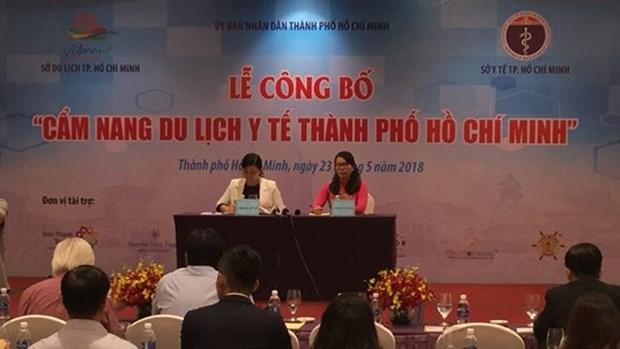 Presentation du guide-ane du tourisme medical pour les visiteurs a Ho Chi Minh-Ville hinh anh 1