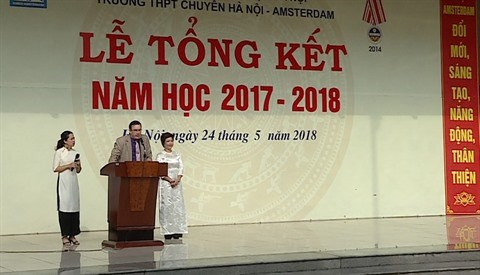 Le Lycee Hanoi - Amsterdam honore par le LabelFrancEducation hinh anh 2