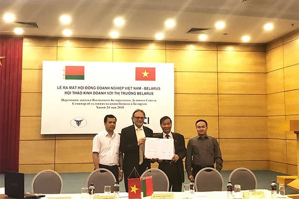 Le Conseil d'affaires Vietnam-Bielorussie voit le jour hinh anh 1