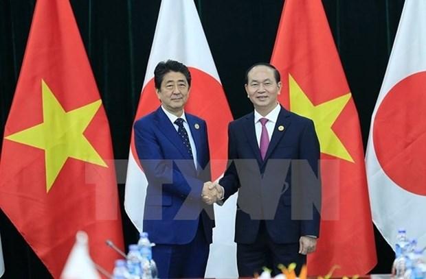 Le president vietnamien au Japon pour resserrer le partenariat strategique elargi hinh anh 1