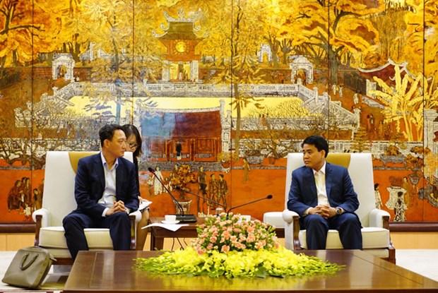 Hanoi souhaite accelerer la mise en œuvre des projets sud-coreens hinh anh 1
