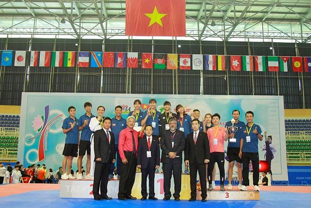 Taekwondo: la R. de Coree domine les deux tournois d'Asie a HCM-Ville hinh anh 2