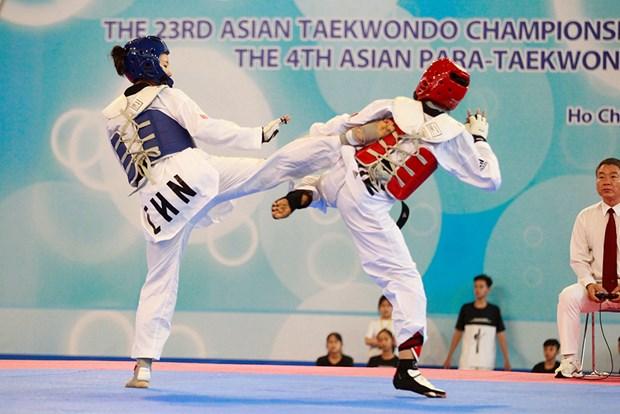 Taekwondo: la R. de Coree domine les deux tournois d'Asie a HCM-Ville hinh anh 1