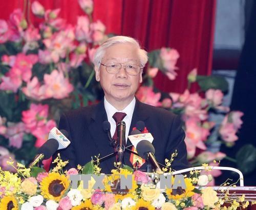 Ceremonie de celebration du 70e anniversaire de l'appel a l'emulation patriotique hinh anh 2