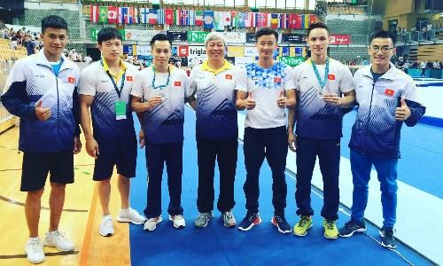 Coupe Challenge de gymnastique artistique : le Vietnam gagne deux medailles d'or hinh anh 1
