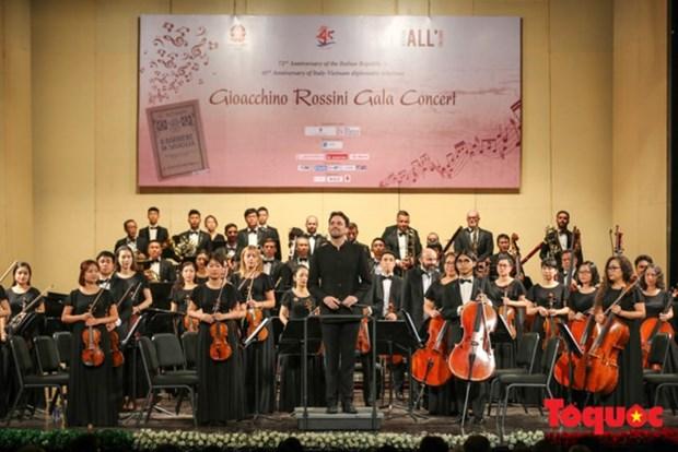 Concert en l'honneur des 45 ans des relations diplomatiques Vietnam – Italie hinh anh 1