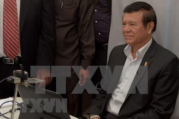 Cambodge : la demande de liberation sous caution de l'ancien chef de l'opposition rejetee hinh anh 1