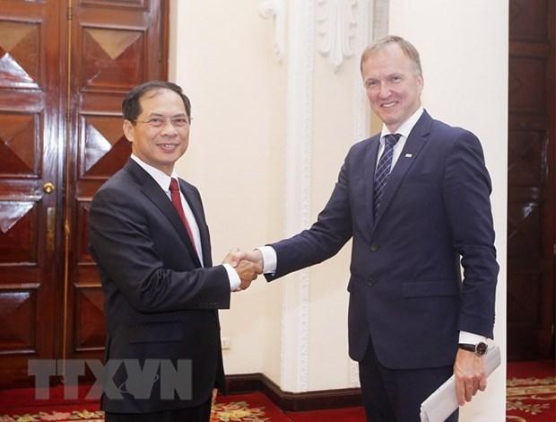 Consultation politique entre le Vietnam et la Lettonie hinh anh 1