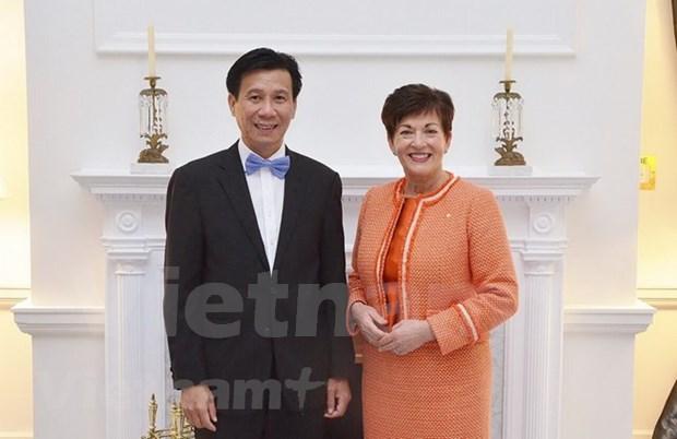 La Nouvelle-Zelande accueille le nouvel ambassadeur du Vietnam hinh anh 1