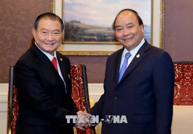 Le PM Nguyen Xuan Phuc multiplie ses rencontres en Thailande hinh anh 3