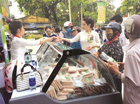A Bac Giang, les habitants preferent les produits made in Vietnam hinh anh 1