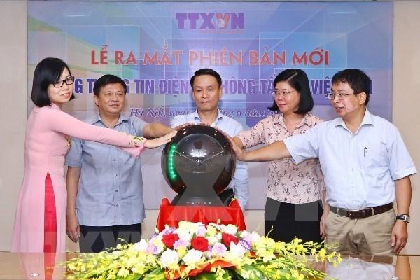 Mise en ligne de la nouvelle version du portail electronique de la VNA hinh anh 1
