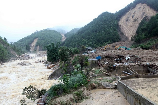 Crues : de lourds degats dans les provinces montagneuses du Nord hinh anh 1