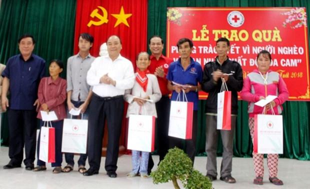 Le Premier ministre salue les acquis de la Croix-Rouge du Vietnam hinh anh 1