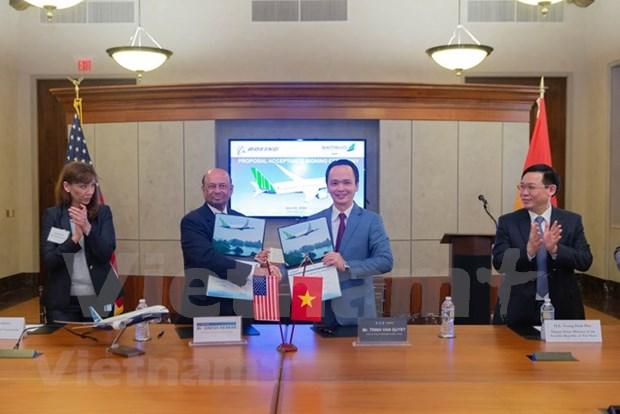 Aviation: Bamboo Airways acquiert 20 Boeing 787-9 Dreamliner hinh anh 1