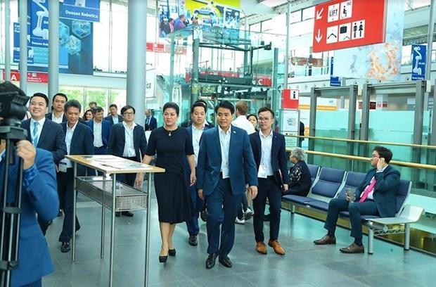 IDE : Hanoi attire de nombreux projets de haute technologie au premier semestre hinh anh 2