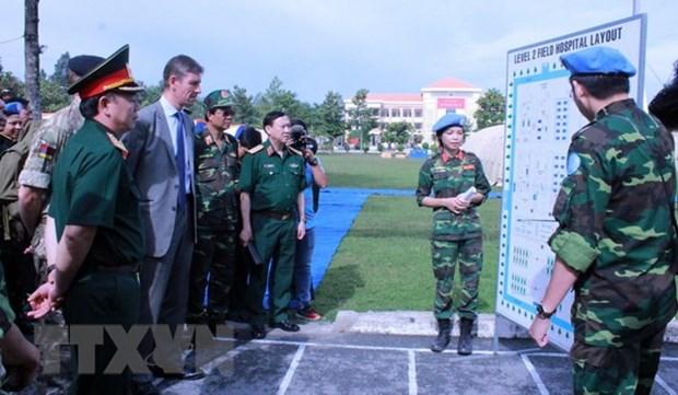 Le Vietnam participe activement aux operations de maintien de la paix de l'ONU hinh anh 1