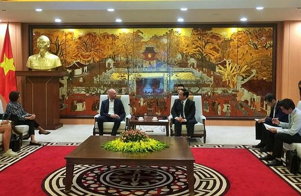 Le C40 s'engage a aider Hanoi a lutter contre le changement climatique hinh anh 1