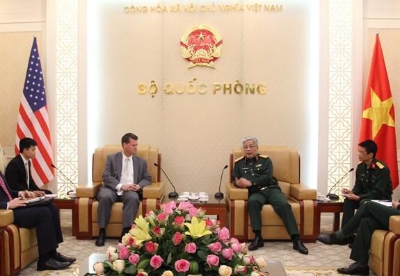 Le Vietnam et les Etats-Unis renforcent leur cooperation dans la defense hinh anh 1