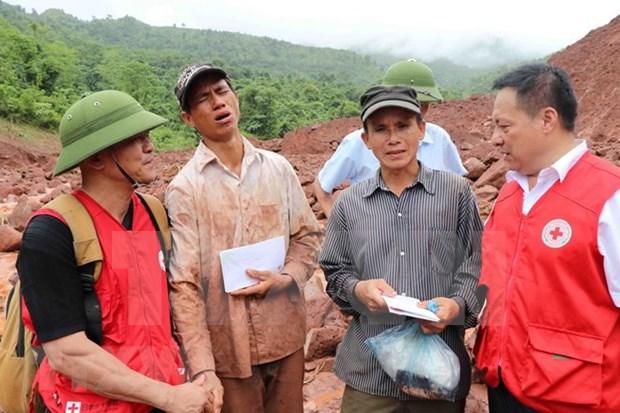 Crues: aides en faveur des sinistres des regions montagneuses du Nord hinh anh 1