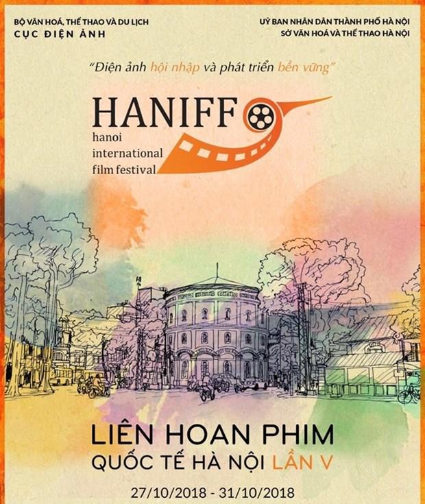 La 5e edition du Festival international du film de Hanoi aura lieu vers la fin du mois d'octobre hinh anh 1
