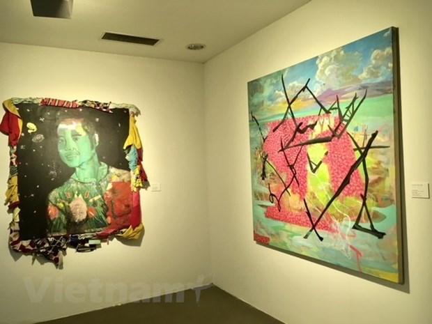 Exposition artistique Vietnam-Republique de Coree hinh anh 1