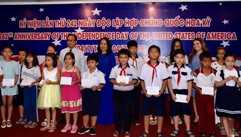 Celebration de la Fete nationale des Etats-Unis a Ho Chi Minh-Ville hinh anh 1