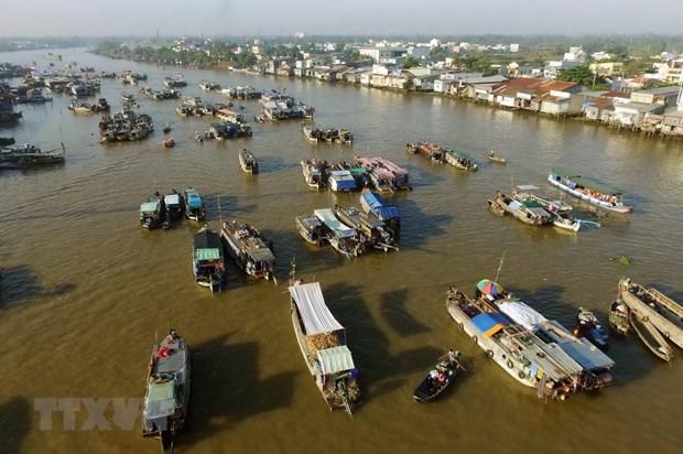 Can Tho : la Fete touristique et culturelle du marche flottant de Cai Rang hinh anh 1
