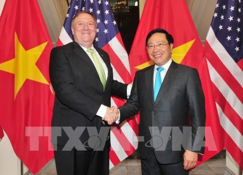 Entretien Pham Binh Minh – Mike Pompeo hinh anh 1