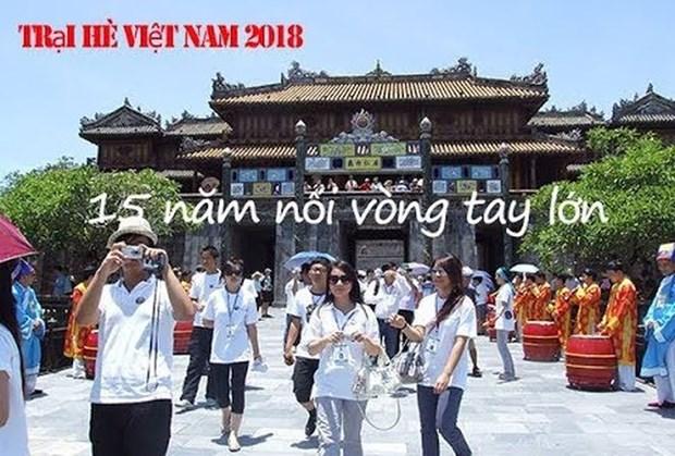 Camp d'ete du Vietnam 2018 - ''15 ans – Tendre la main'' hinh anh 1
