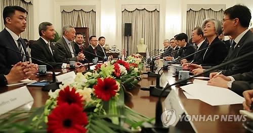 La Republique de Coree et Singapour conviennent de renforcer leurs liens hinh anh 1