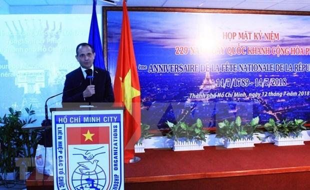 La Fete nationale francaise celebree a Ho Chi Minh-Ville hinh anh 1