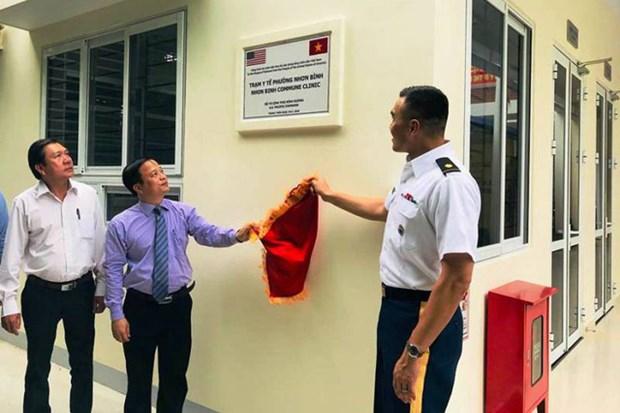 Les Etats-Unis financent la renovation d'une station medicale a Quy Nhon hinh anh 1