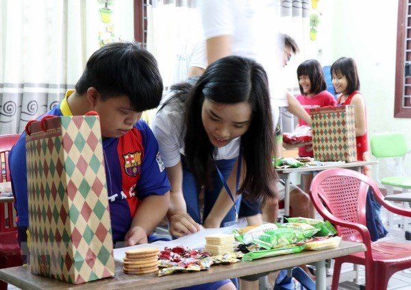 Des jeunes Viet Kieu decouvrent la beaute du vieux quartier de Hoi An hinh anh 1