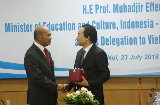 Education: Le Vietnam renforce sa cooperation avec la SEAMEO hinh anh 1