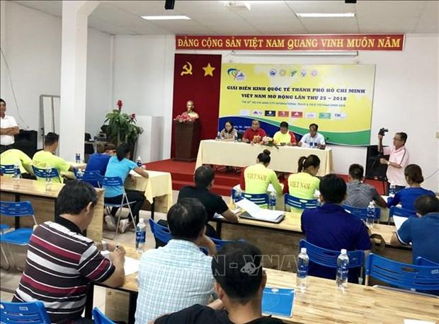 Bientot tournoi international d'athletisme elargi de Ho Chi Minh-Ville hinh anh 1