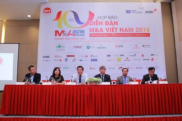 Bientot Vietnam M&A Forum 2018 en aout prochain hinh anh 1
