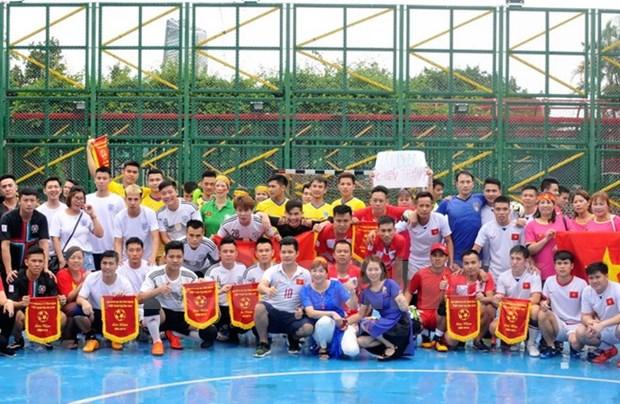 Celebration de la Journee des invalides de guerre et des Morts pour la Patrie a Macau hinh anh 1