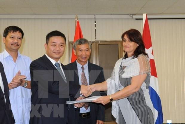 Premiere societe vietnamienne implantee dans la zone speciale cubaine de developpement de Mariel hinh anh 1