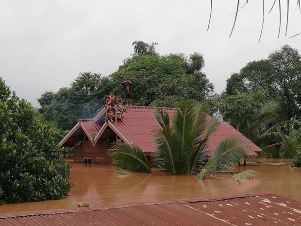 Effondrement d'un barrage au Laos : un groupe sud-coreen octroie dix millions de dollars hinh anh 1